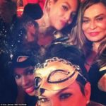 Star studded birthday for Beyonce's mum, Tina