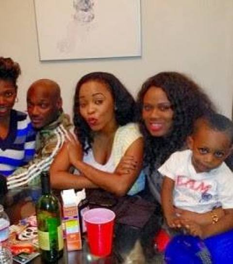 2Face Finally Meets His New Baby Girl In US