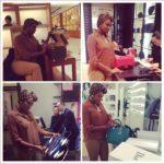 Actress Chika Ike goes shopping in Abu Dhabi