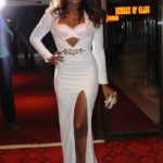 Christabel Ekeh's BREAST exposure @ 2013 Ghana Movie Awards