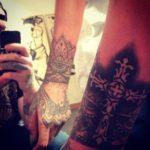 Rihanna gets new tattoo