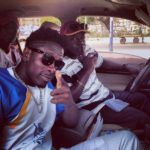 PHOTO: Ghanaian self acclaimed 'Dancehall King' Shatta Wale & his dad