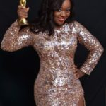 Photos: Jackie Appiah goes hottie with her award in this promo shoots