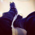 N500k Guiseppe Zanotti sneakers for Sean Tizzle