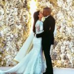 The West's wedding photo breaks instagram record