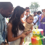 Kim K Shares North West 1 Year Birthday Picture