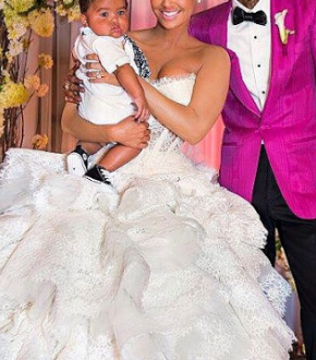 Amber Rose Shares 2013 Wedding Pictures With Wiz Khalifa