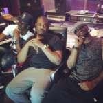 Photo: Don Jazzy hits studio with P-Square