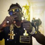 Shatta Wale makes Ghana proud as he wins African Artiste of the Year
