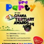 YWE celebrates pre party of the Ghana Tertiary Awards