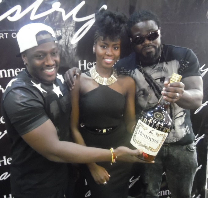 photo of MzVee. 4x4 - Hennessy Artistry launch