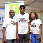 "THE 2FACE FOUNDATION LAUNCHES ""VOTE NOT FIGHT, ELECTION NO BE WAR"" CAMPAIGN + THEME SONG"
