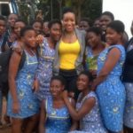 Inspiration time: Joselyn Dumas gingers students