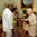 Kente special: How Ghana 1st Lady impressed the Queen