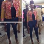 Haute or Not: Becca in Poqua poqu's outfit to her Fair