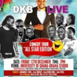 Dec. 12 will see #DKBLIVE comedy tour spoil UG campus