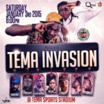 3rd January: Tema Stadium warms up for TEMA INVASION