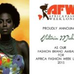 Victoria Michaels is Brand Ambassador for 2015 Africa Fashion Week London