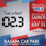 Kasapa 102. 3 FM launches officially Friday July 31
