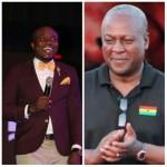 Ghana King of Comedy-DKB earns President Mahama's 'thumbs up'