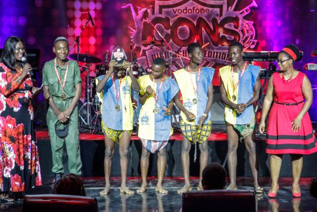 Accra Aca wins Vodafone Icons
