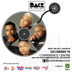 December 19th it is…as BACK IN THE DAY Concert 2015 gets launched on Starr Drive