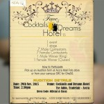 The Face of Cocktails & Dreams Hotel beauty pageant contest