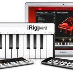 New iRig Keys MINI – The 25 mini-key universal keyboard MIDI controller