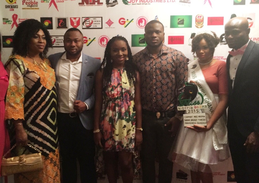 Miss Nigeria Ghana - Breast Cancer Awareness launch (2)
