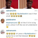 Must SEE: Juliet Ibrahim & Salma Mumin ridicule the size of the 'unwise' WISA who will never remember December again!
