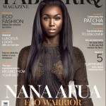 Ghanaian Top Model NANA AFUA ANTWI Covers FabAfriq Magazine's 'Eco' Issue