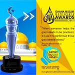 Ghana Muslims Achievers Awards Tickets & Outlets Announced ahead of 29th Jan