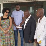 The JULIET IBRAHIM FOUNDATION surprised patients @ the Manna Mission Hospital