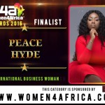 PEACE HYDE nominated for International Business Woman of the Year