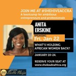 #shehiveAccra season 2: Anita Erskine to speak