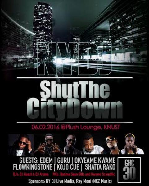shutdownthecitytainment