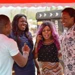 How AFIA SCHWARZENEGGER made laughter a tranquilizer on her birthday @ Dzamatui [in photos]