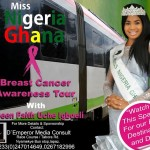 Miss Nigeria Ghana 'Breast Cancer Awareness Tour' to commence soon