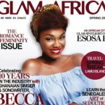 BECCA covers Glam Africa Magazine's Spring 2016 edition