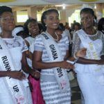 Photos: Miss Africa Continent takes crown to church