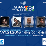 Who knocks out Who @ the 2016 Tigo GHANA meets NAIJA?