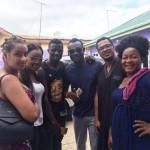 Bonne Arrivée Juliet Ibrahim, Van Vicker, Prince David, Charlotte Derban et al to Kumawood