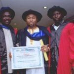 Tonto Dikeh's husband, Amb. OLAKUNLE CHURCHILL bags another award…gets celebrated by Kanu Nwankwo