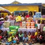 Giving Back: Nana Ama McBrown Spends Time with Orphans on Her Birthday