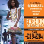 NESKAL CORPORATE FASHION SHOW is due to come on the 1st of October 2016 @ the La Palm Royal Beach Hotel