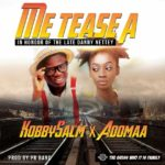 New audio: Adomaa teams up with KobbySalm