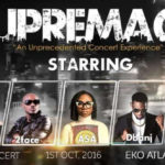 Asa, Wizkid, D'banj, 2Face & KSA live @ Supremacy Concert, get your tickets