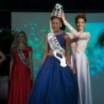 History maker: ABENA AKUABA becomes the first Ghanaian to win an international pageant…beats twenty contestants to win the prestigious 'Queen Beauty Universe' crown in Spain