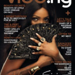 Petite singer, SIMI Covers January Issue of Vibe.ng