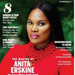 Boss Lady: ANITA ERSKINE covers New African Woman Magazine – photos speak!